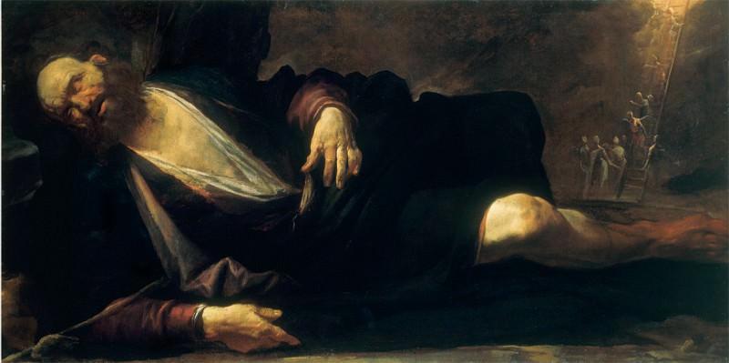 Gioacchino Assereto Jacob's Dream 18041 203. часть 2 - европейского искусства Европейская живопись