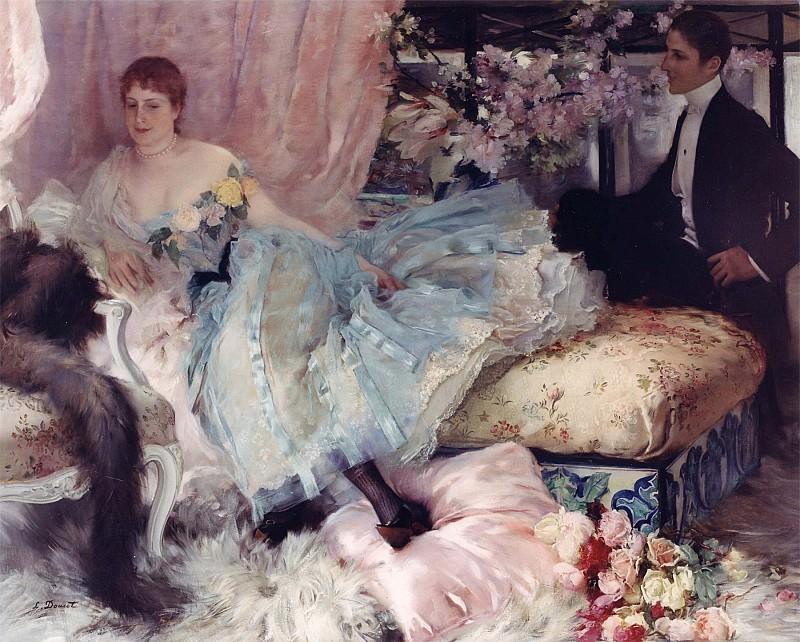 Henri Lucien Doucet After the Ball. часть 2 -- European art Европейская живопись