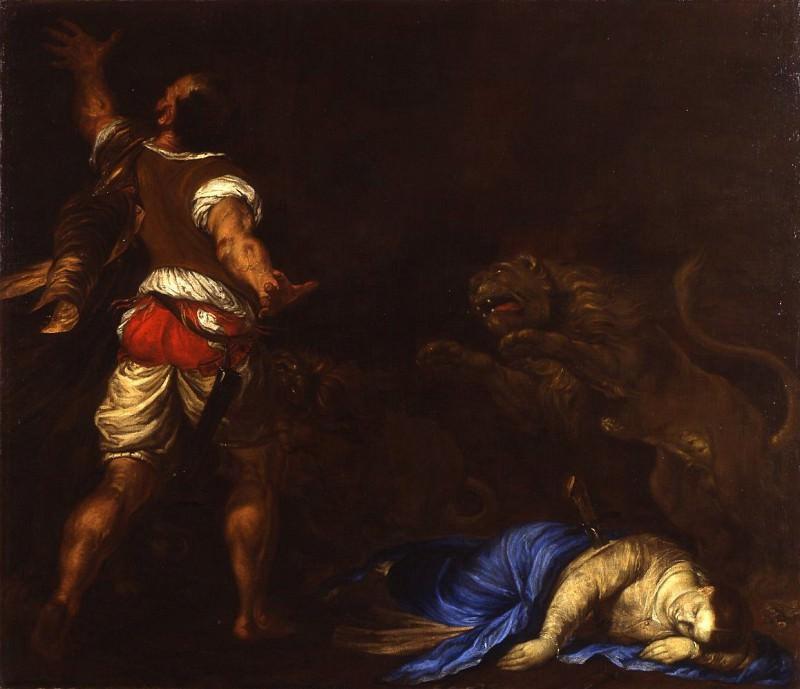 Francesco Cairo The Martyrdom of Saint Euphemia 16914 203. часть 2 -- European art Европейская живопись