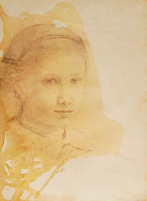 Edgar Degas Giovanna Bellelli 89941 1184. часть 2 - европейского искусства Европейская живопись