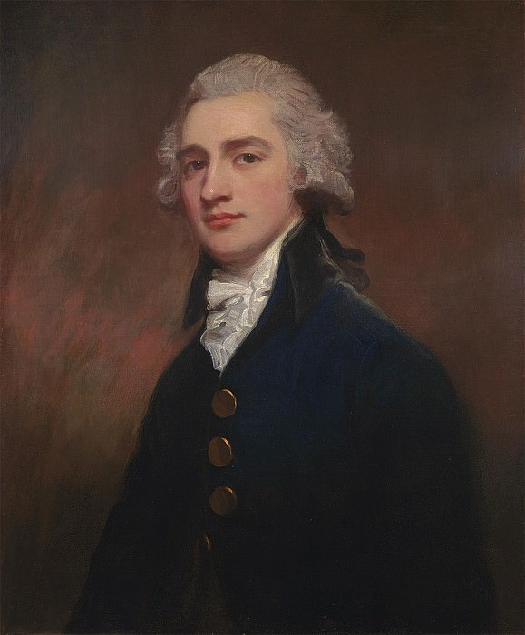 George Romney Portrait of Sir George Gunning BT 99919 20. часть 2 -- European art Европейская живопись