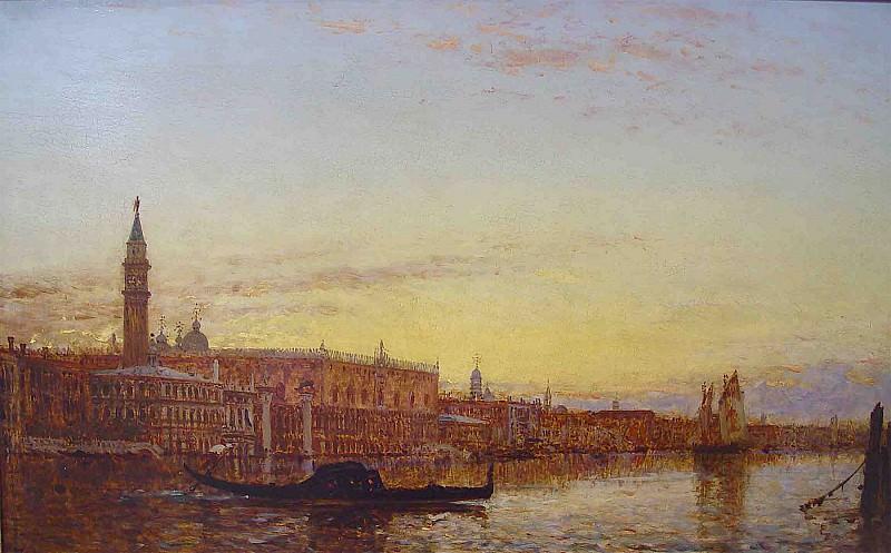 Felix Ziem Venice 36957 3306. часть 2 -- European art Европейская живопись