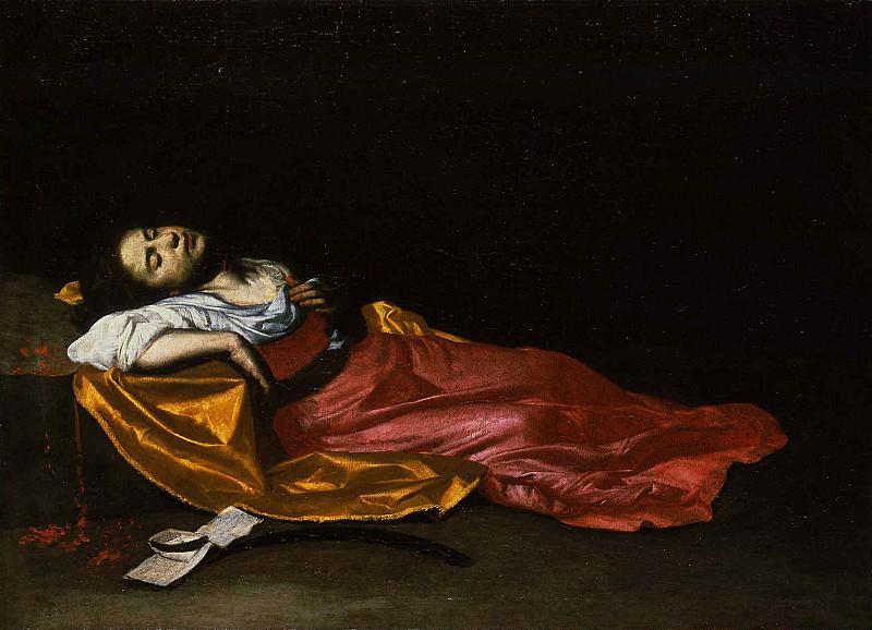 Francesco Guarino attributed to Saint Cecilia Martyr 16962 203. часть 2 -- European art Европейская живопись