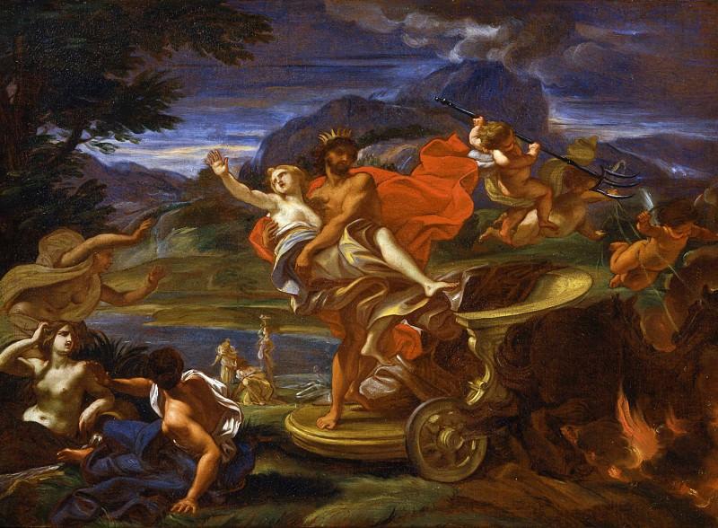 Giovanni Battista Gaulli called Il Baciccio The Abduction of Proserpine. часть 2 -- European art Европейская живопись
