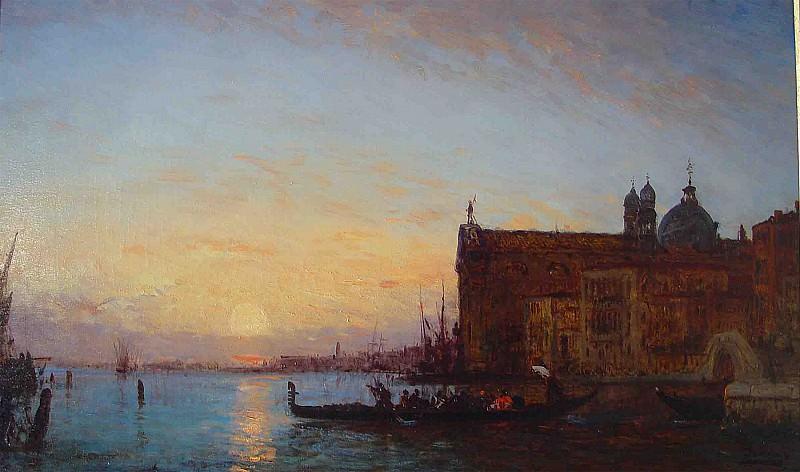 Felix Ziem Venice 36958 3306. часть 2 -- European art Европейская живопись