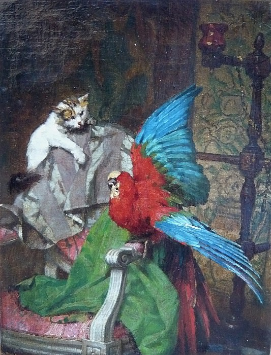 Emile Villa A small misunderstanding 69259 1184. часть 2 - европейского искусства Европейская живопись