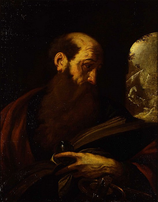 Giovanni Battista Crespi called Cerano 1575 Milan 1632 Saint Paul. часть 2 -- European art Европейская живопись