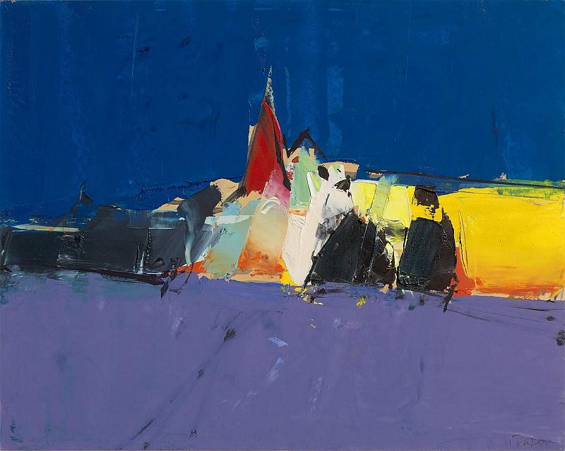Donald Hamilton Fraser London Bridge. часть 2 -- European art Европейская живопись
