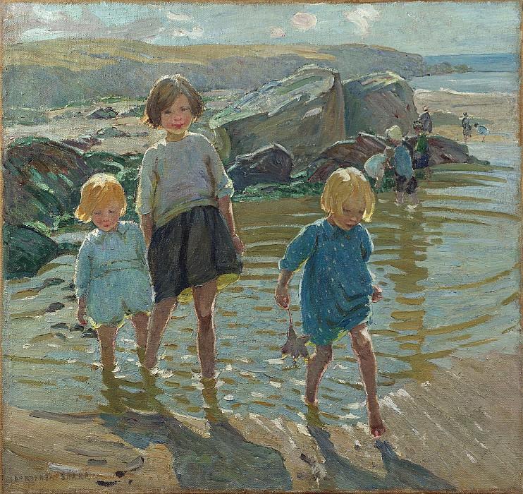 Dorothea Sharp Children on a beach 100219 20. часть 2 -- European art Европейская живопись