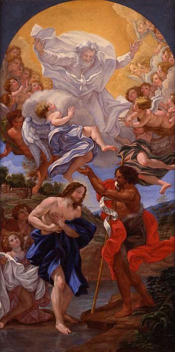 Giovanni Battista Gaulli called Il Baciccio The Baptism of Christ. часть 2 -- European art Европейская живопись