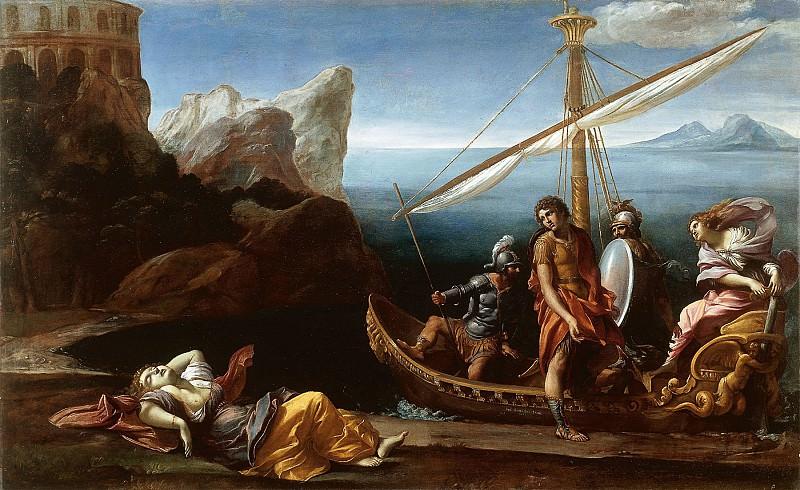 Giovanni Lanfranco Rinaldos Farewell to Armida 16405 203. часть 2 -- European art Европейская живопись