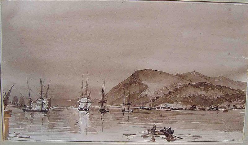 Felix Ziem Toulon Harbor 37053 3306. часть 2 -- European art Европейская живопись