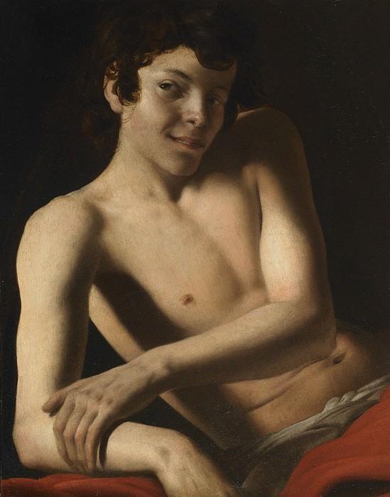 Giovanni Battista Caracciolo called Battistello Caracciolo Half length figure of a young man i. часть 2 -- European art Европейская живопись