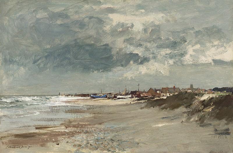 Edward Seago Gathering storm Suffolk Coast 30203 20. часть 2 -- European art Европейская живопись