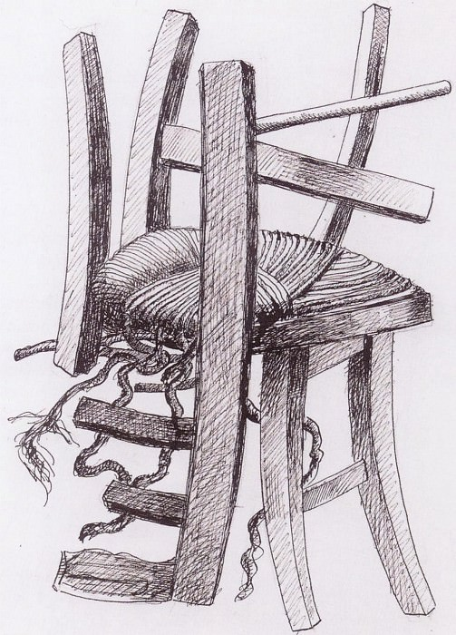 Fernand LEGER Composition Г la chaise 41082 1146. часть 2 -- European art Европейская живопись