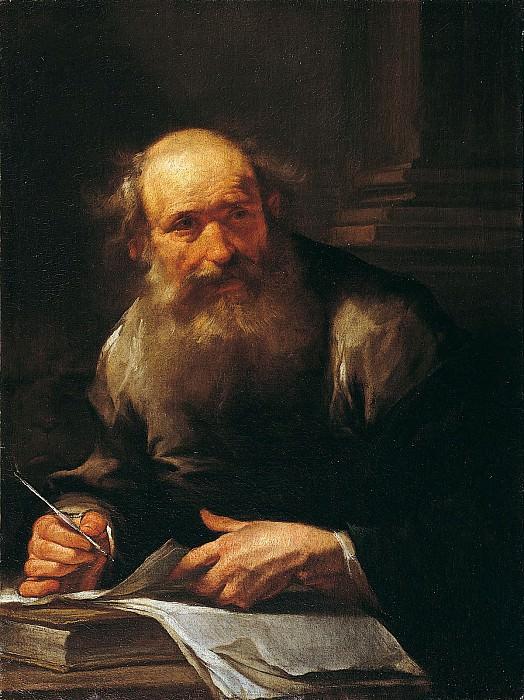 Gioacchino Assereto Saint Mark the Evangelist 16728 203. часть 2 - европейского искусства Европейская живопись