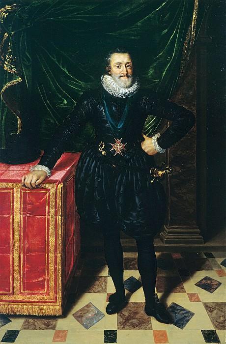Frans Pourbus the Younger Henri IV King of France i 36774 321. часть 2 -- European art Европейская живопись