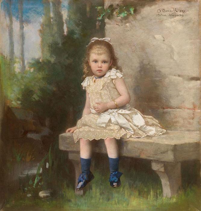 Frederike Emilie Auguste OConnell Young Girl 37533 121. часть 2 - европейского искусства Европейская живопись