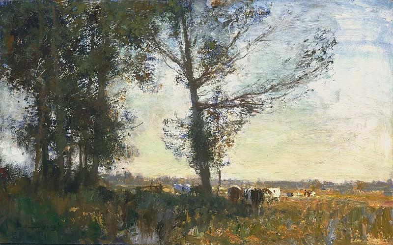 Edward Seago Thurne Marsh Summer 100179 20. часть 2 -- European art Европейская живопись
