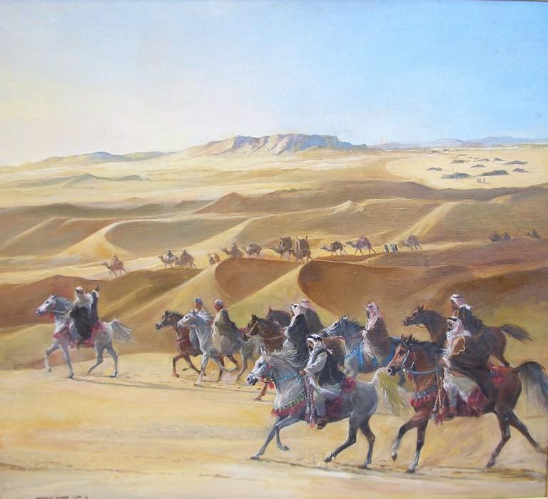 Harold Wood On the March 51539 3606. часть 2 - европейского искусства Европейская живопись