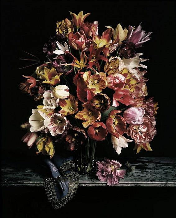Guido Mocafico Bouquet de tulipes 89539 172. часть 2 - европейского искусства Европейская живопись