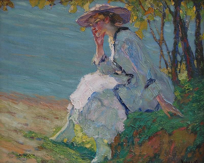 Эдвард Кукуэль - Летние грёзы. часть 2 - европейского искусства Европейская живопись