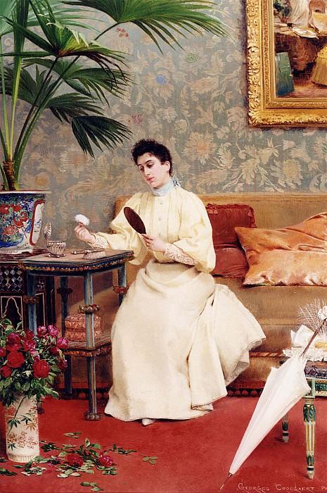 Georges Croegaert La Toilette. часть 2 -- European art Европейская живопись