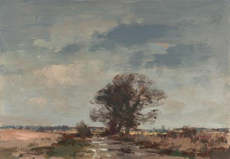 Edward Seago The Marsh Loke After rain 30210 20. часть 2 -- European art Европейская живопись