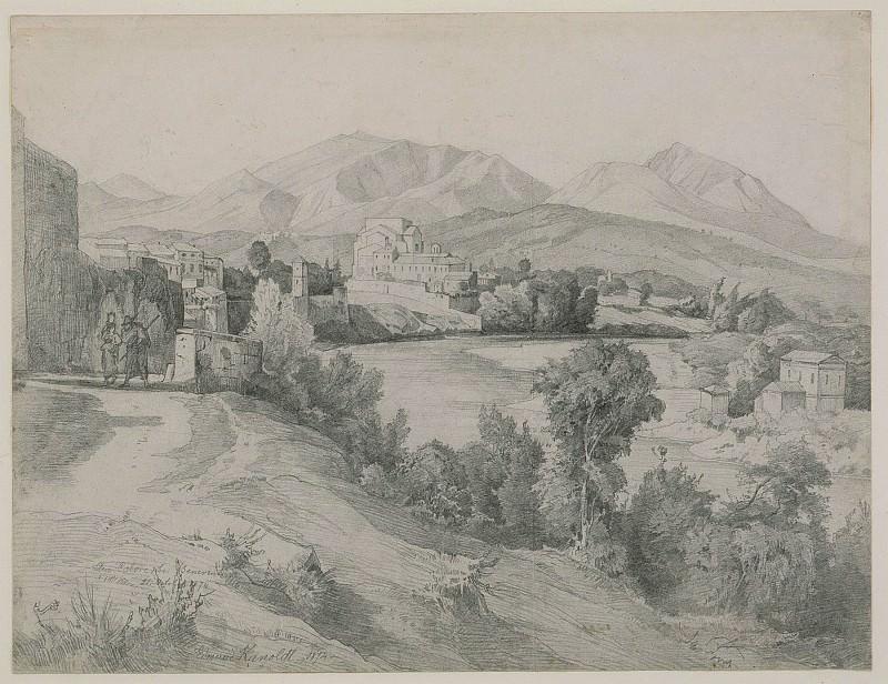 Edmund Kanoldt View of Benevento 54039 172. часть 2 -- European art Европейская живопись