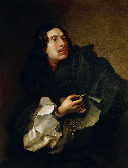 Guillaume Courtois called Le Bourguignon Self Portrait 17932 203. часть 2 -- European art Европейская живопись