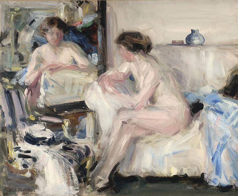 Francis Campbell Boileau Cadell Nude Reflections 31553 20. часть 2 -- European art Европейская живопись