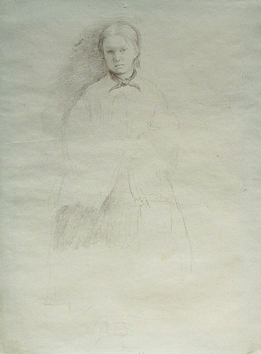 Edgar Degas Giovanna Bellelli 89940 1184. часть 2 -- European art Европейская живопись