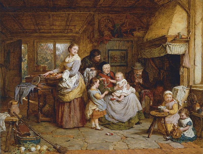George Smith Home Be it ever so Humble 100279 20. часть 2 -- European art Европейская живопись