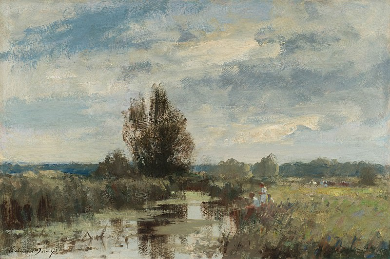 Edward Seago By the Upper Yare 30200 20. часть 2 -- European art Европейская живопись