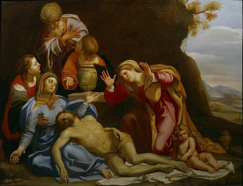 DOMENICO ZAMPIERI called IL DOMENICHINO PietГ 8158 316. часть 2 -- European art Европейская живопись