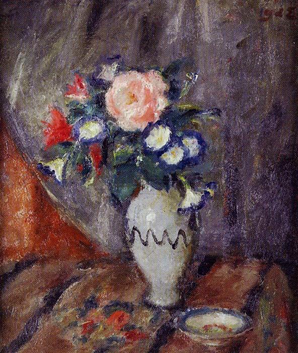 Georges dEspagnat Vase de fleurs 120518 1184. часть 2 -- European art Европейская живопись