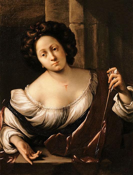Francesco Cairo Saint Christina 16217 203. часть 2 -- European art Европейская живопись