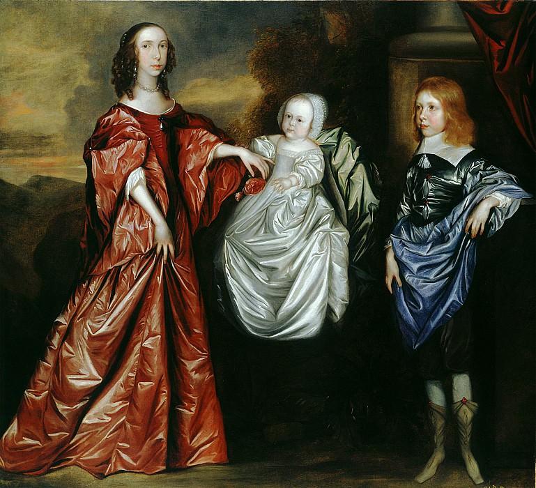 English Provincial School c 1656 вЂ. часть 2 -- European art Европейская живопись