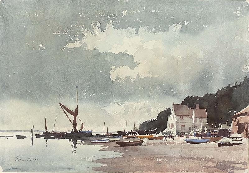 Edward Seago Half Tide Pin Mill 28585 20. часть 2 -- European art Европейская живопись