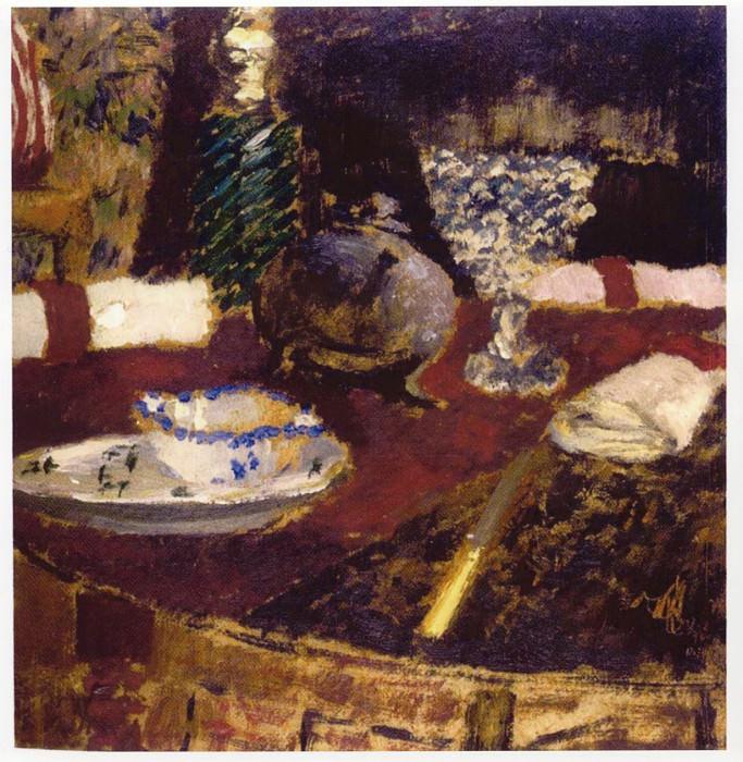 Edouard VUILLARD La sauciГЁre et les ronds de serviette 41135 1146. часть 2 -- European art Европейская живопись