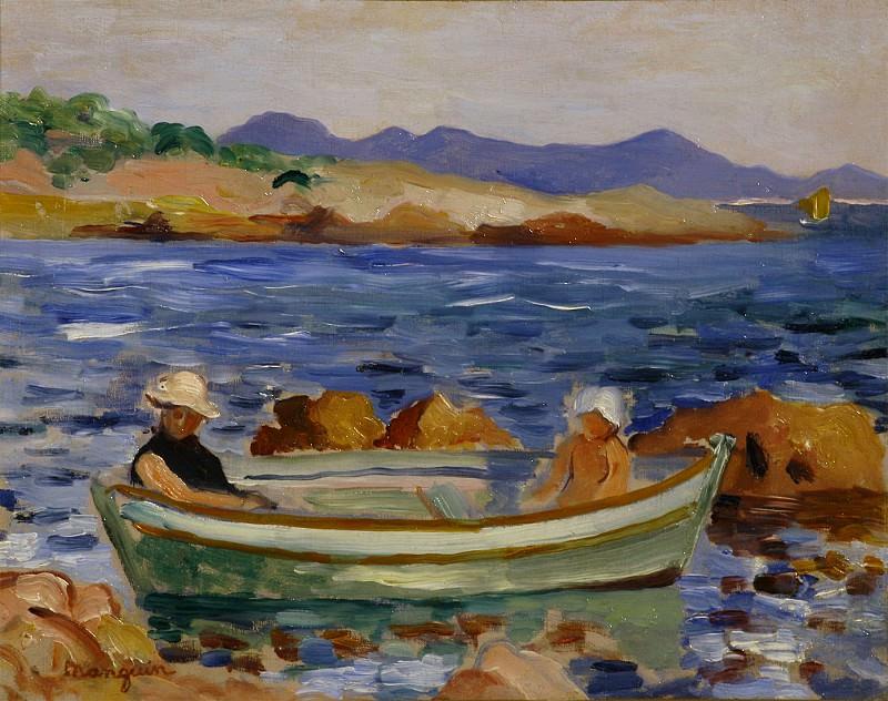 Henri MANGUIN La barque 122561 3449. часть 2 - европейского искусства Европейская живопись