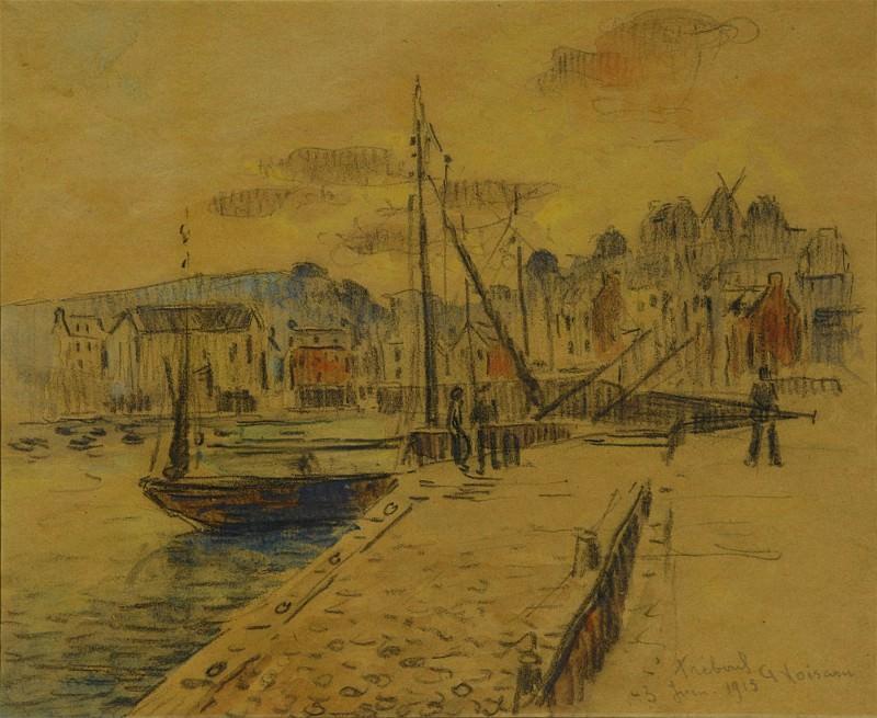 Gustave LOISEAU Loe port de TrГ©boul 101739 3449. часть 2 -- European art Европейская живопись