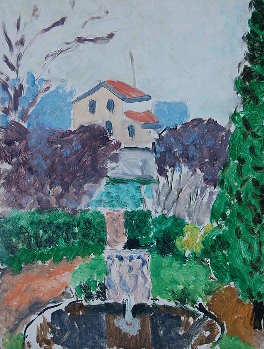 Henri Matisse Jardin de l'artiste Г Issy les Moulineaux 42046 1184. часть 2 -- European art Европейская живопись