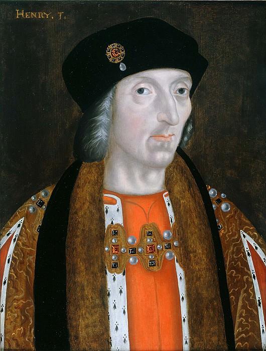 English School Henry VII i 39377 321. часть 2 - европейского искусства Европейская живопись