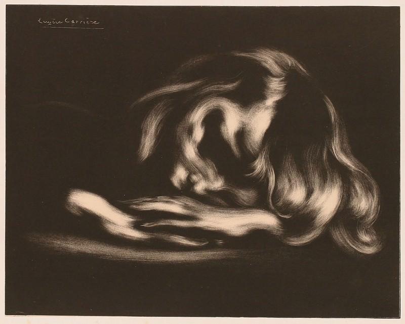 EugГЁne CarriГЁre Le Sommeil 26997 1124. часть 2 -- European art Европейская живопись