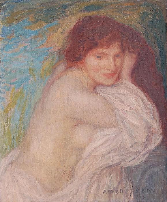Edmond Francois Aman Jean La baigneuse 8346 1184. часть 2 -- European art Европейская живопись