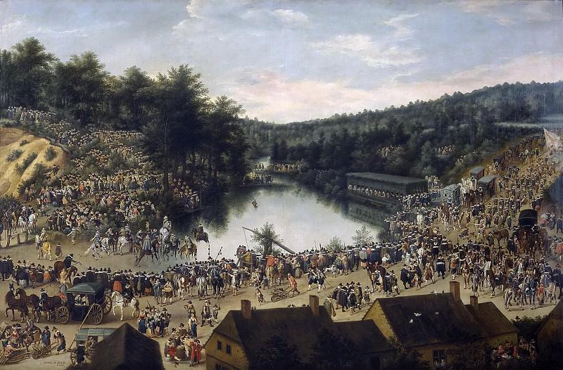 Alsloot, Denis van -- Fiesta de Nuestra Señora del Bosque. Part 5 Prado Museum