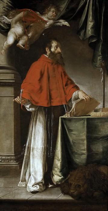 Вальдес Леаль, Хуан де -- Святой Иероним. часть 5 Музей Прадо