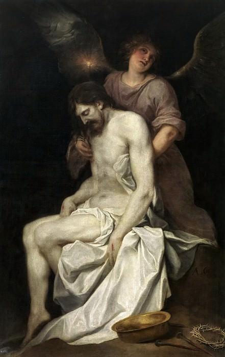 Кано, Алонсо -- Мертвый Христос поддерживаемый ангелом. часть 5 Музей Прадо