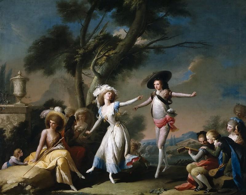 Camarón Bonanat, José -- Una romería, o El bolero. Part 5 Prado Museum